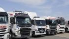 Camiones que participan testeos